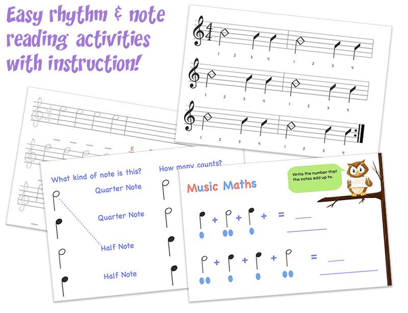 Homeschool Gentle Guitar Music School For Kids Adult Beginners